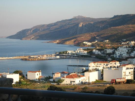 Balcony view of Agia Pelagia
