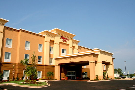 Hampton Inn Anderson/ Alliance Business Park: Hampton Inn Alliance Business Park - Exterior View