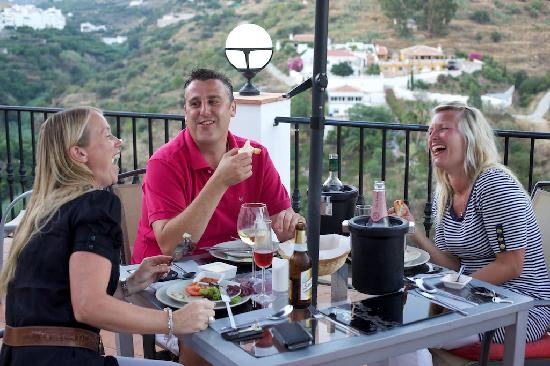 Hotel La Casa: Fantastic Restaurant, Service and View