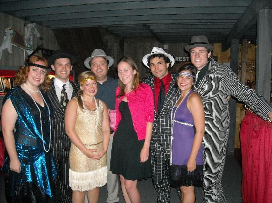 Carousel Music Theater: Me with the cast