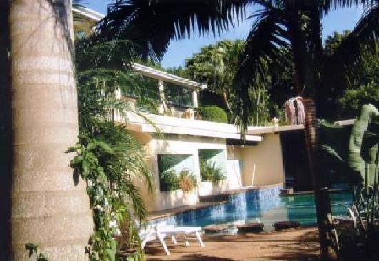 Nolangeni Lodge: Pool area