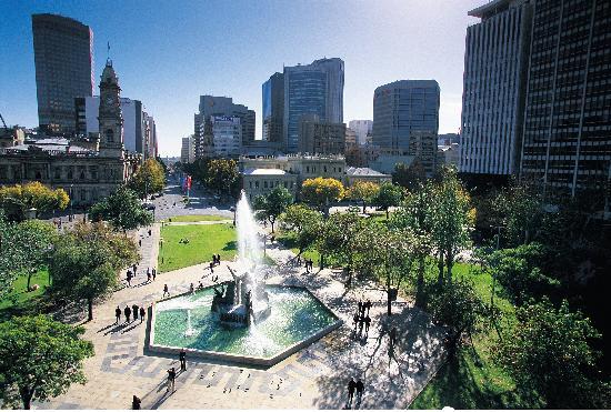 Adelaide, Australia: Victoria Square / Tarndanyangga.