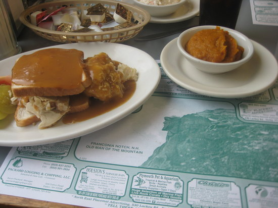 Peg's Family Restaurant: Turkey sandwich