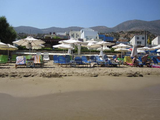 Talgo Hotel - Apartments: view from the beach