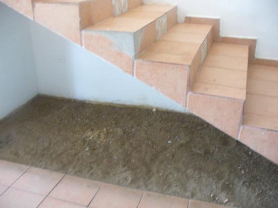 Buenas Olas Hotel: stairs to room