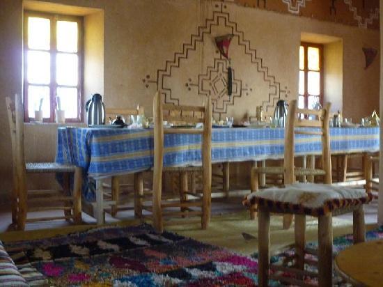 Dar Timitar: salle à manger