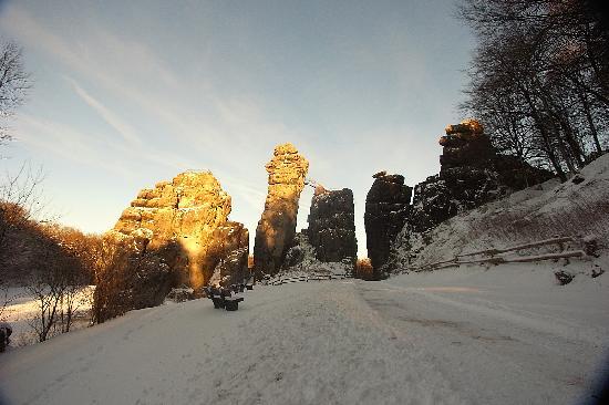 Horn-Bad Meinberg, Alemania: auch im Winter ein lohnendes Ziel