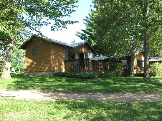 Ruttger's Bay Lake Lodge: The cabin