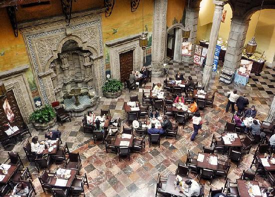Foto de sanborns de los azulejos ciudad de m xico for La casa del azulejo san francisco