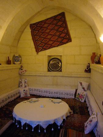 Aravan Evi Boutique Hotel: 夕食をいただいたお部屋