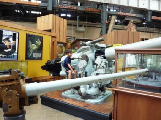 National Museum of the United States Navy: Anyone may climb onto the displays.