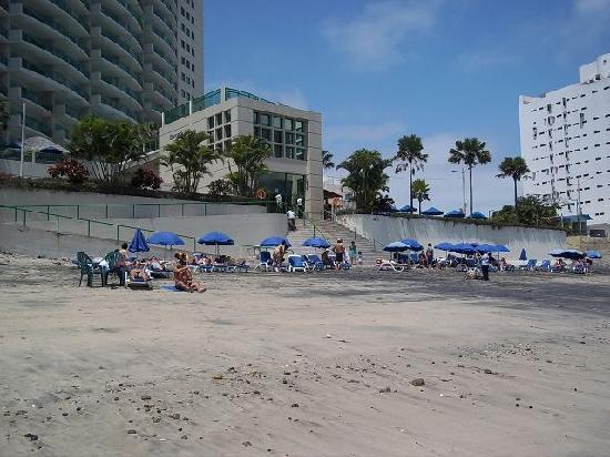 Barcelo Salinas: Am Strand bei Ebbe