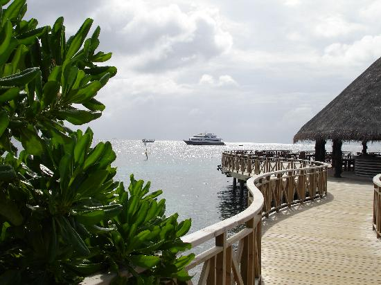 Bandos Maldives: wunderschöne Anlage mit Traumaussicht
