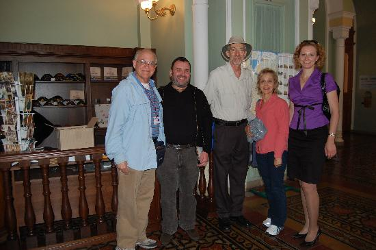 UlkoTours : Jewish Heritage Tour, meeting with the Cantor, 2009