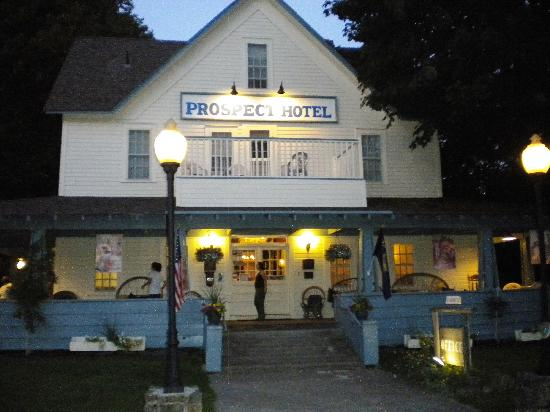 Prospect Historic Hotel - Motel and Dinner House: the hotel