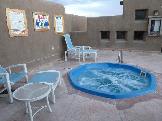 Eldorado Hotel & Spa: my private hot tub -