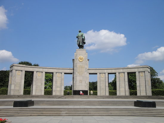 Berlin, Almanya: Soviet War Memorial