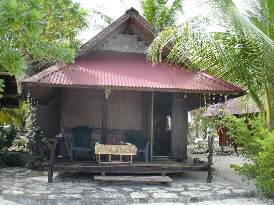 Pension Paparara : Fare avec SdB sur plage