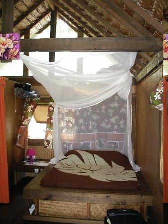 Fakarava, French Polynesia: Vue chambre