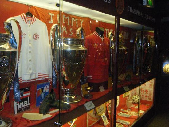 Anfield Stadium: Museum
