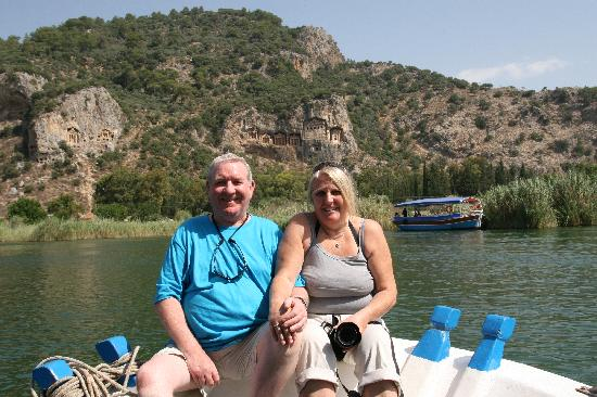 Dalyan Garden Pension: Osman the photographer.