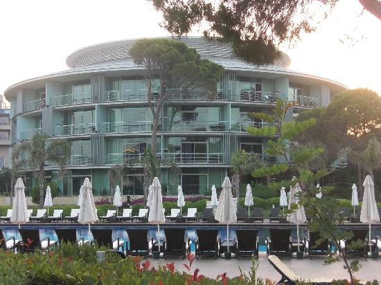 Calista Luxury Resort: 1 Hotel-Trakt