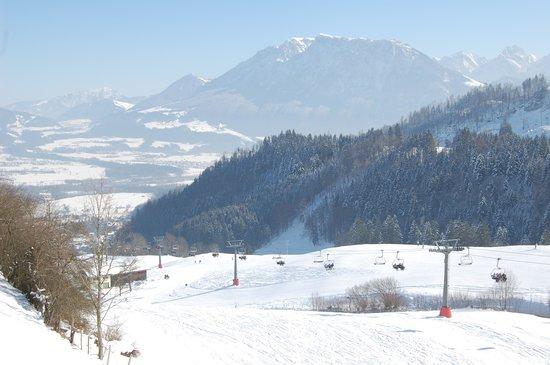 Berggasthof Hocheck: winter