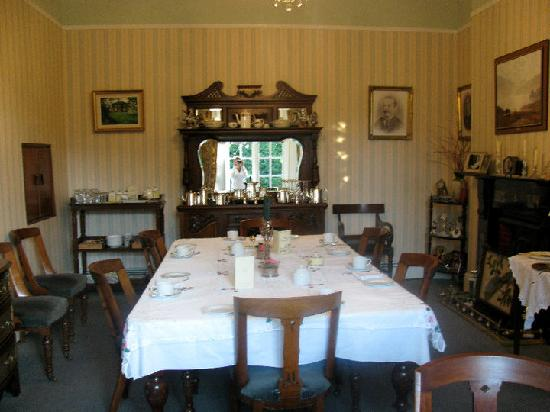 Foxmount Country House: The dinning room