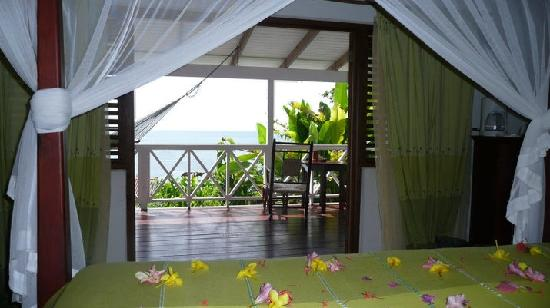 Ti Kaye Resort & Spa: view from our bed