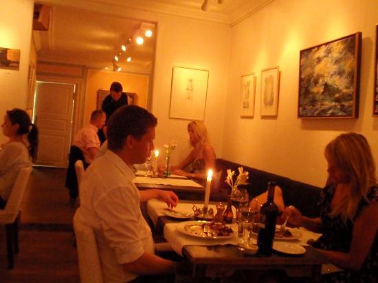 Restaurant Krebsegaarden : Atmosphere inside Krebsegaarden