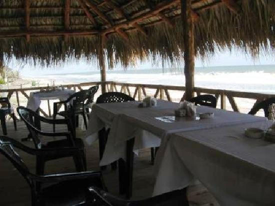 Zacatecoluca, El Salvador: Oceanview restaurant