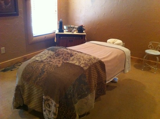Blue Ridge, GA: Massage room