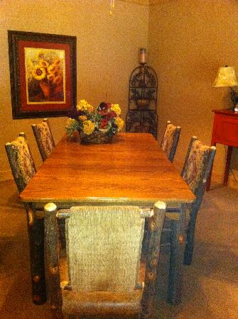 Blue Ridge, GA: Dining room