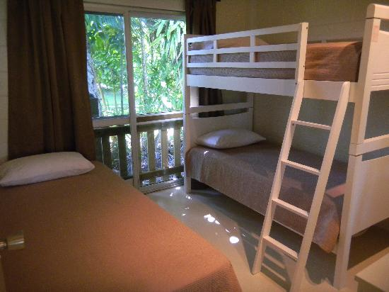 Tides at Mission: Garden View Bunk Room
