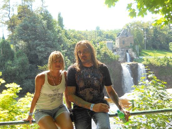 Ausable Chasm : Me & my brother Aug. 30 2010