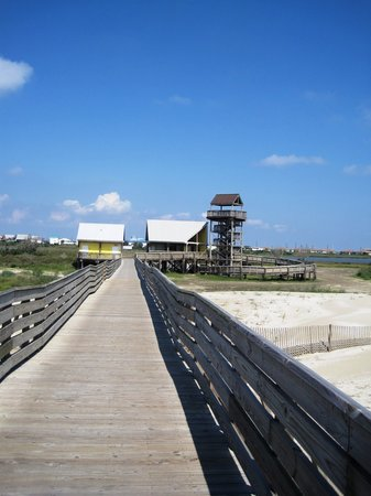 Grand Isle, LA: Boardwalk at the state park.