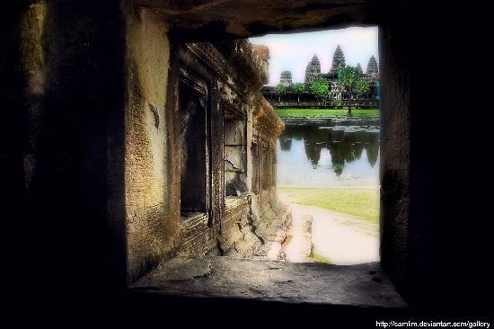 Peace of Angkor Tours: ' ...a room with a view '
