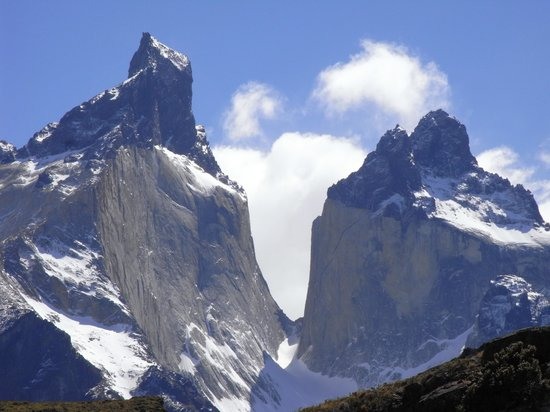 Aisen Region, Şili: das berühmte Hörnermassiv