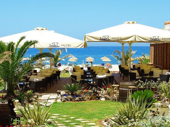 Odyssia Beach Hotel : Lounge sitting