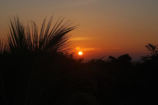 Nature Lodge Finca los Caballos: sunrise from our terrace
