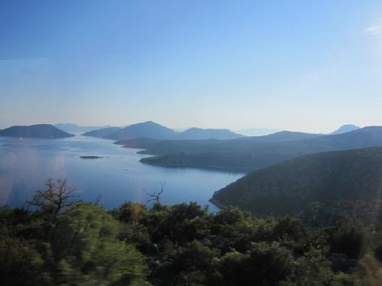 Orasac, Kroatien: Sur la route de Mljet