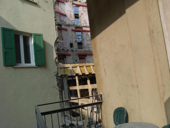 Hotel Siena: Mein Balkon