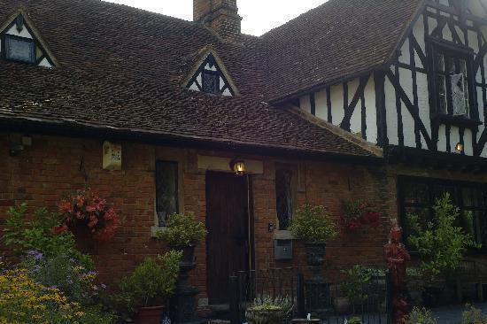 Oak Lodge Bed & Breakfast: La entrada al OakLodge