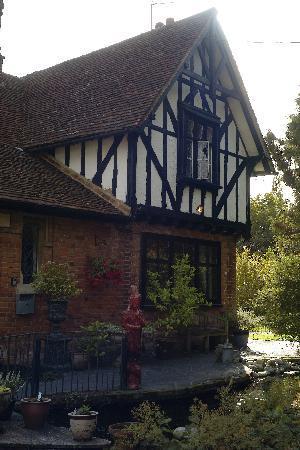 Oak Lodge Bed & Breakfast: Detalle de la casa