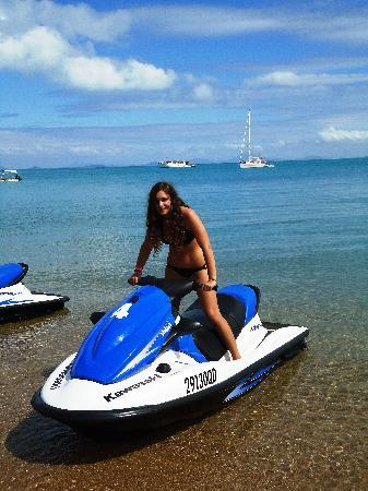 Ecojet Ski Safari Tours: me & the jet ski