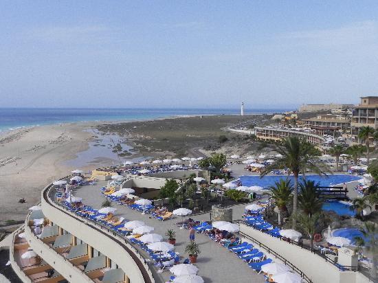 Iberostar Playa Gaviotas : vue du haut