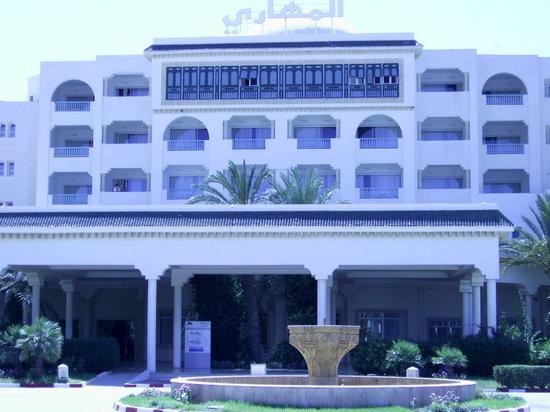 Hotel Mehari Hammamet: Hotelansicht von der Rückseite