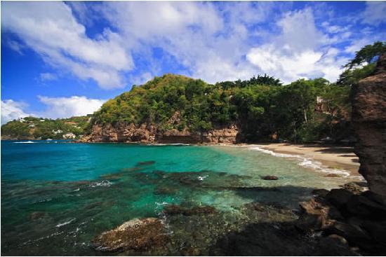 St. Lucia: nice cove
