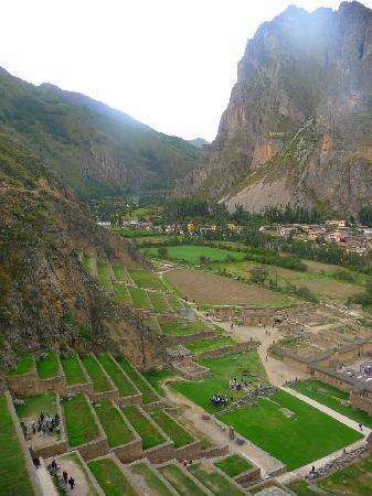 Templo de Ollantaytambo: Terrassen