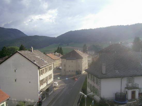 Sainte-Croix, Switzerland: View from room